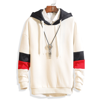 Hoodie Sweatershirt Men Fashion Letter Print Men's Hooded