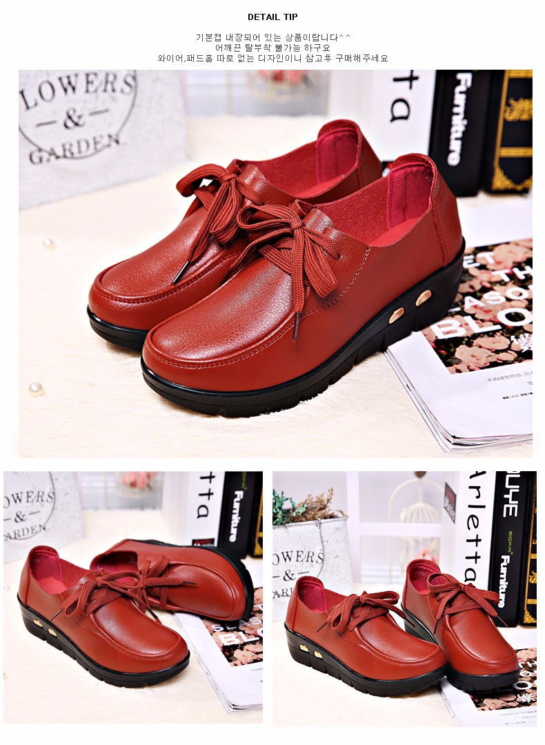 Women Oxfords Leather Shoes New Arrival Round Toe Lace Up Casual Women Flats Size 35-41 Flat Heels Platform Ladies Shoes NX27 (13)