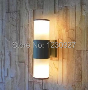 LED IP65 outdoor 6W garden light Modern aluminum tube waterproof corridor wall lamp ...