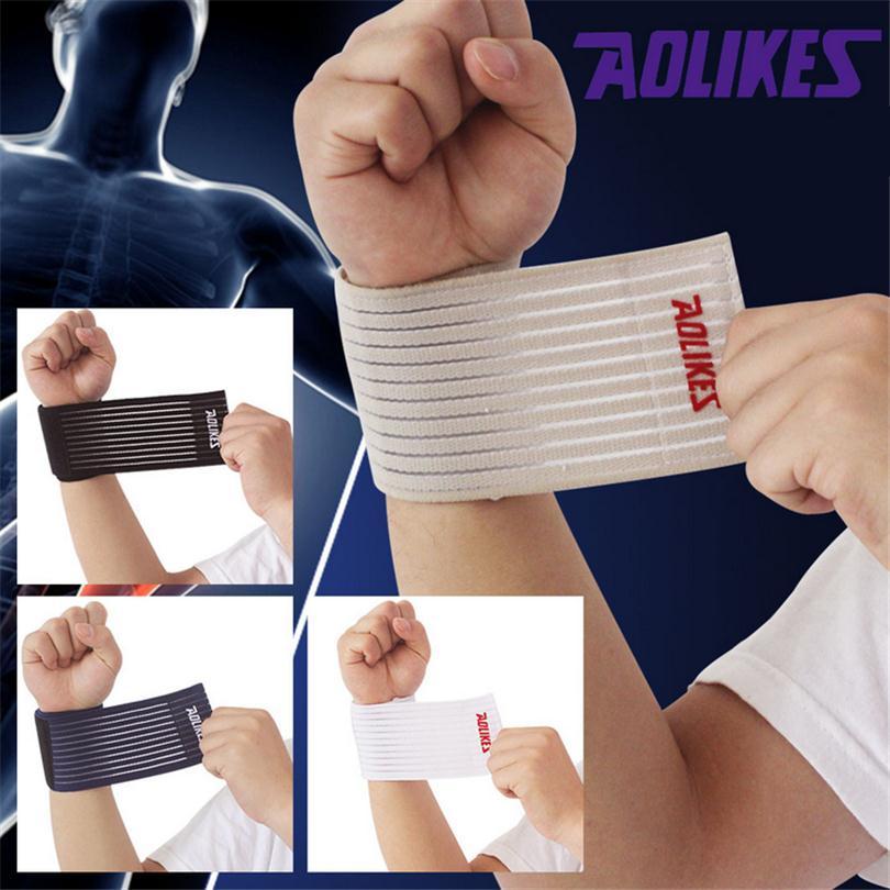 Designer Adorable Elbow Wrist Support Compression Wrap Popular Classic Outdoor Sport Injury Bandage Wrist Brace Guard Wraps Q034