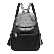 2017 новая Европа и соединенные Штаты женская сумка кожаная женская модный рюкзак отдыха MS ручные сумка
