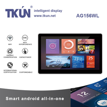 TKUN 15.6 /18.5 /21.5 /23.6 inch android tablet pc,capacitive multi-touch all-in-one machine,  support WIFI  Bluetooth,RK3288