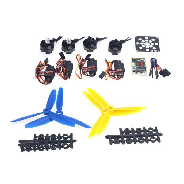 JMT RC Drone Kit KV2300 Brushless Motor + 12A ESC + QQ Super Flight Control+FC 5x4.5 Propeller for 250 Helicopter DIY ночная рубашка the flower of love