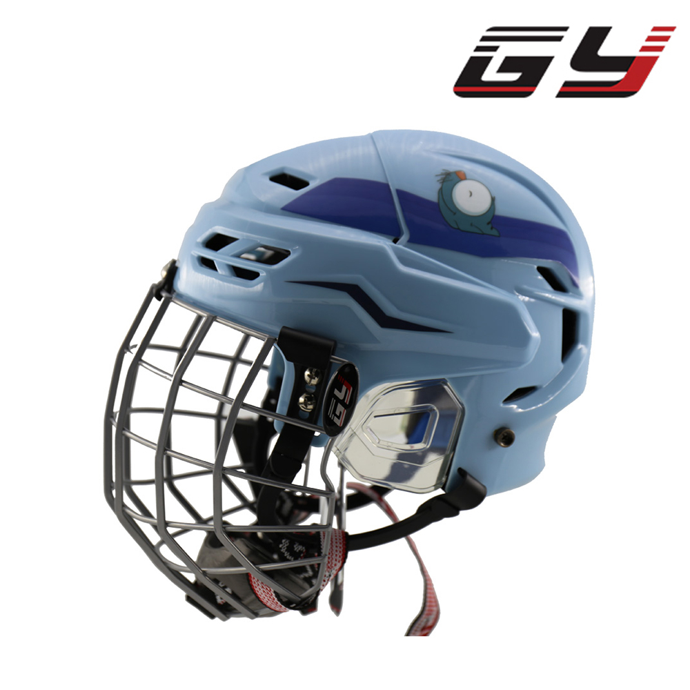 GY Children Ice Hockey Helmet for Ice Hockey Kids Helmet Free Shipping the Latest Product of GY dhl free shipping synthetic embroidery ice hockey jerseys wholesale