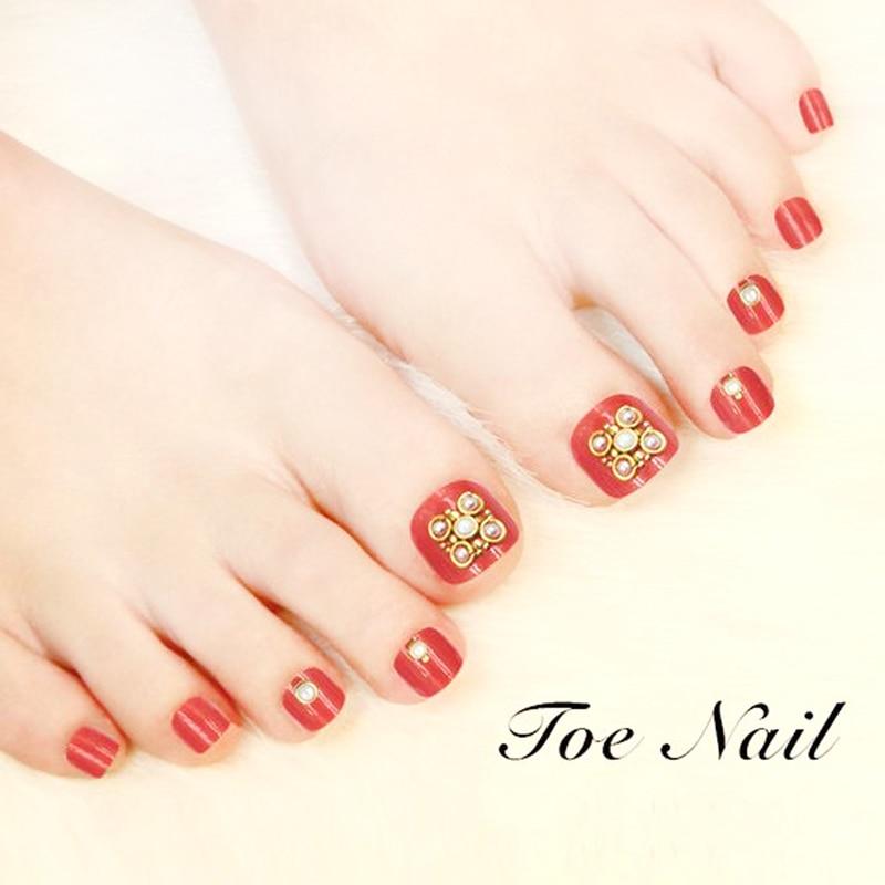 Fototerapia Falsas uñas de los pies Nuevo llegada Acrílico UV - Arte de uñas