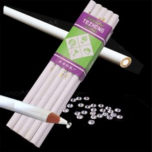 Sewing-Tools-Accessory Pencil Hand-Tools Drawing Office Diamond Sticky White Student