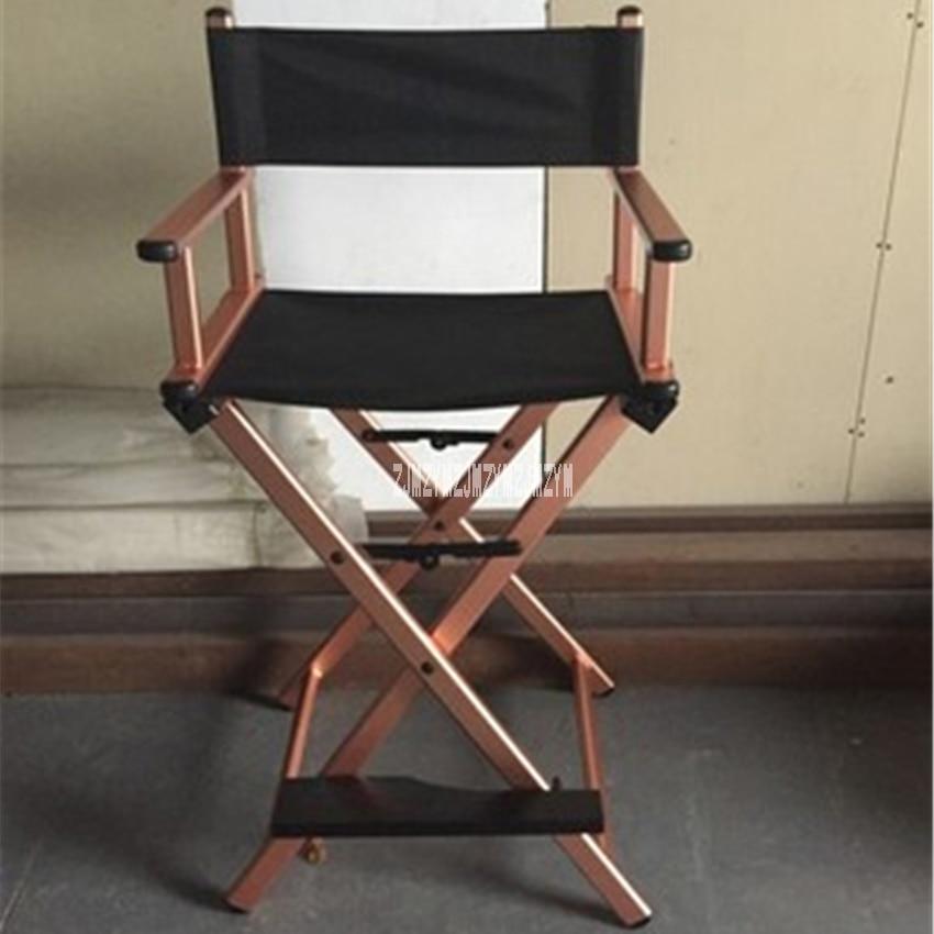 Camping en plein air en alliage d'aluminium cadre pliant chaise de plage léger Portable pliable directeur chaise Bar bureau maquillage chaise