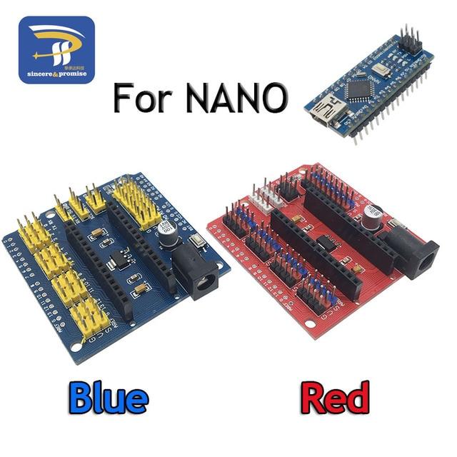 ATMEGA328P NANO IO Shield And UNO Multi-Purpose Expansion Board for Arduino Nano 3.0 CH340 CH340G