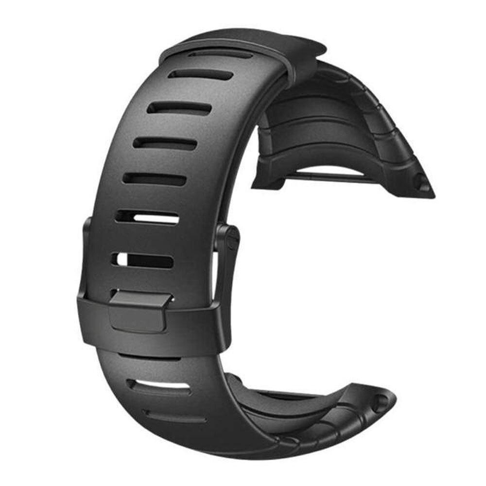 Correa watchband Luxury Rubber Watch Replacement Band Strap For SUUNTO CORE SS014993000 Correa correa de reloj pulseira Sep28