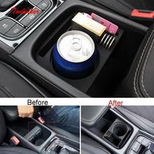 Tonlinker Interior Armrest Box Storage Stowing Tidying for SKODA KODIAQ 2017-19 Car Styling 1 PCS ABS Covers