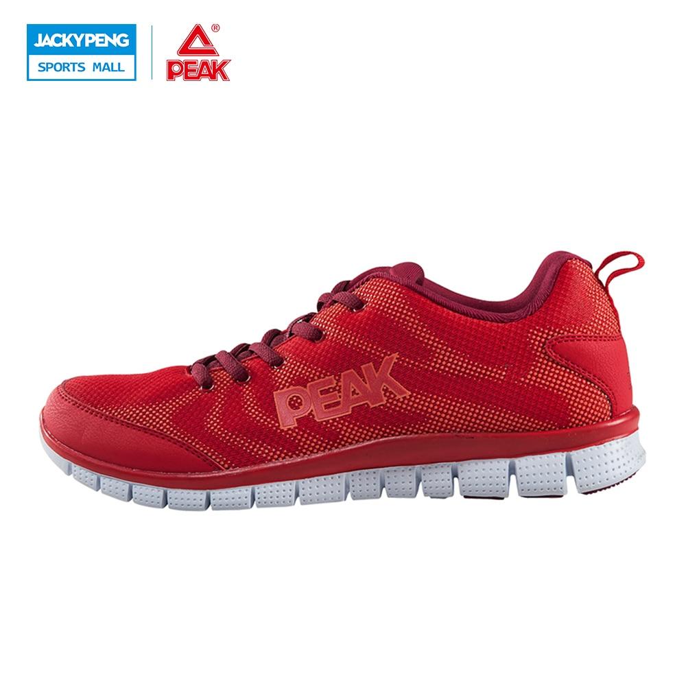 PEAK Spring Men's Running Shoe 2017 New Arrival Trending Style Light Sports Shoes Breathable Sneakers For Male блюдечко light peak