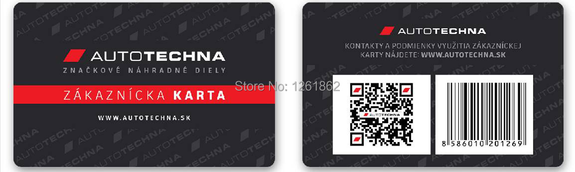 barcode gym membership cards / nfc membership card-in Business ...