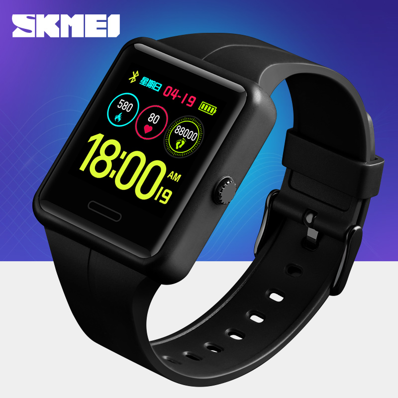 2019 New  Sport Smart Watch Men SKMEI Outdoor Bluetooth Multifunction Fitness Watches 5Bar Waterproof Digital Watch reloj hombre