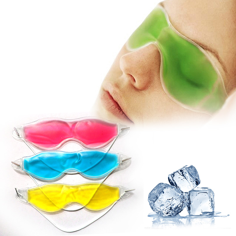 Rest Ice Eye Shade cooler bag Sleeping Mask Cover ice pack eye patch Cold Relaxing Soothing eyes care Gel Mask health care A2