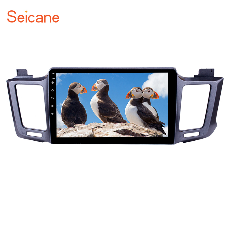 Seicane GPS Car Radio Multimedia Player For 2013 2016 Toyota RAV4 10.1 Android 6.0/7.1/8.1 2Din Head Unit Support Backup Camera