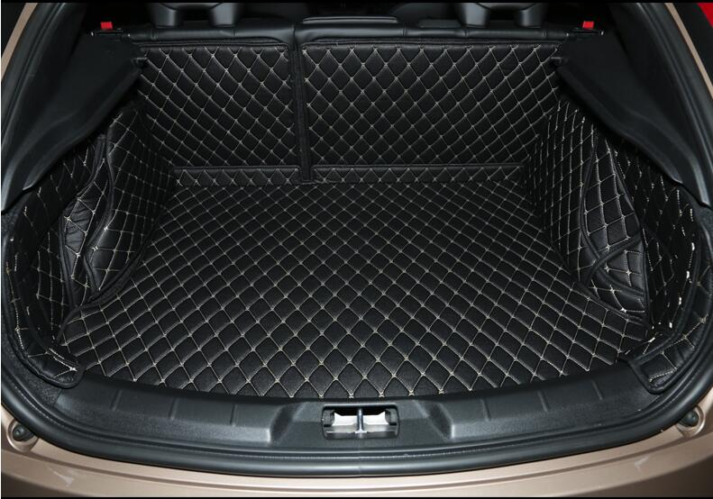 Good quality! Special car trunk mats for Volvo V40 2018-2012 waterproof boot carpets cargo liner mat for V40 2015,Free shipping