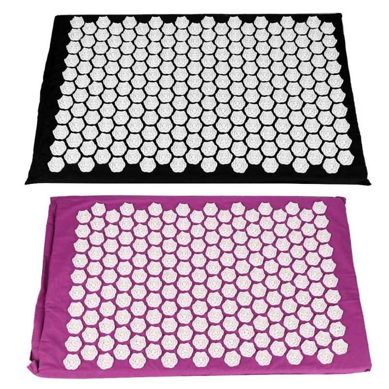 1pc Acupuncture Massage Pad Flower Acupuncture Massage Pad Needle Acupoint Massager Yoga Cushion Pain Relief pig acupuncture model animal acupuncture model