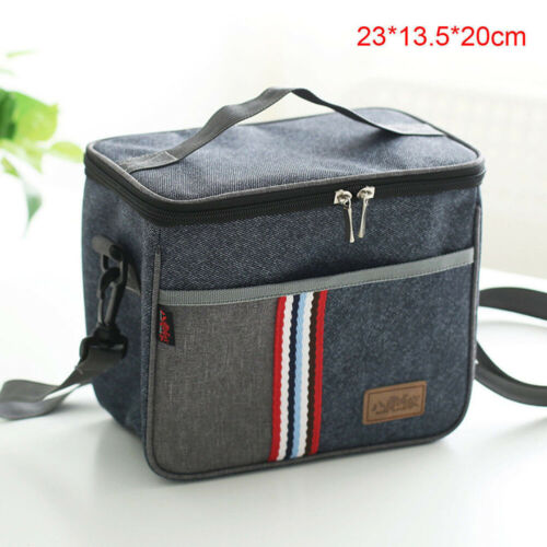 2019 New Fashion Lunch Bags Portable Insulated Lunch Bag For Women Men Kids Thermos Cooler Adults Tote Box