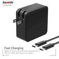 Charge rapide 65 W Type-C PD US plug Ordinateur Portable Adaptateur Chargeur Pour xiaomi air pour Macbook 12 13 pouce pour DELL XPS 12X1 Accessoires
