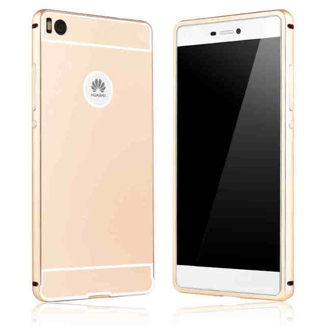 huawei p8. for huawei p8 lite case cover alumium metal frame pc back luxury