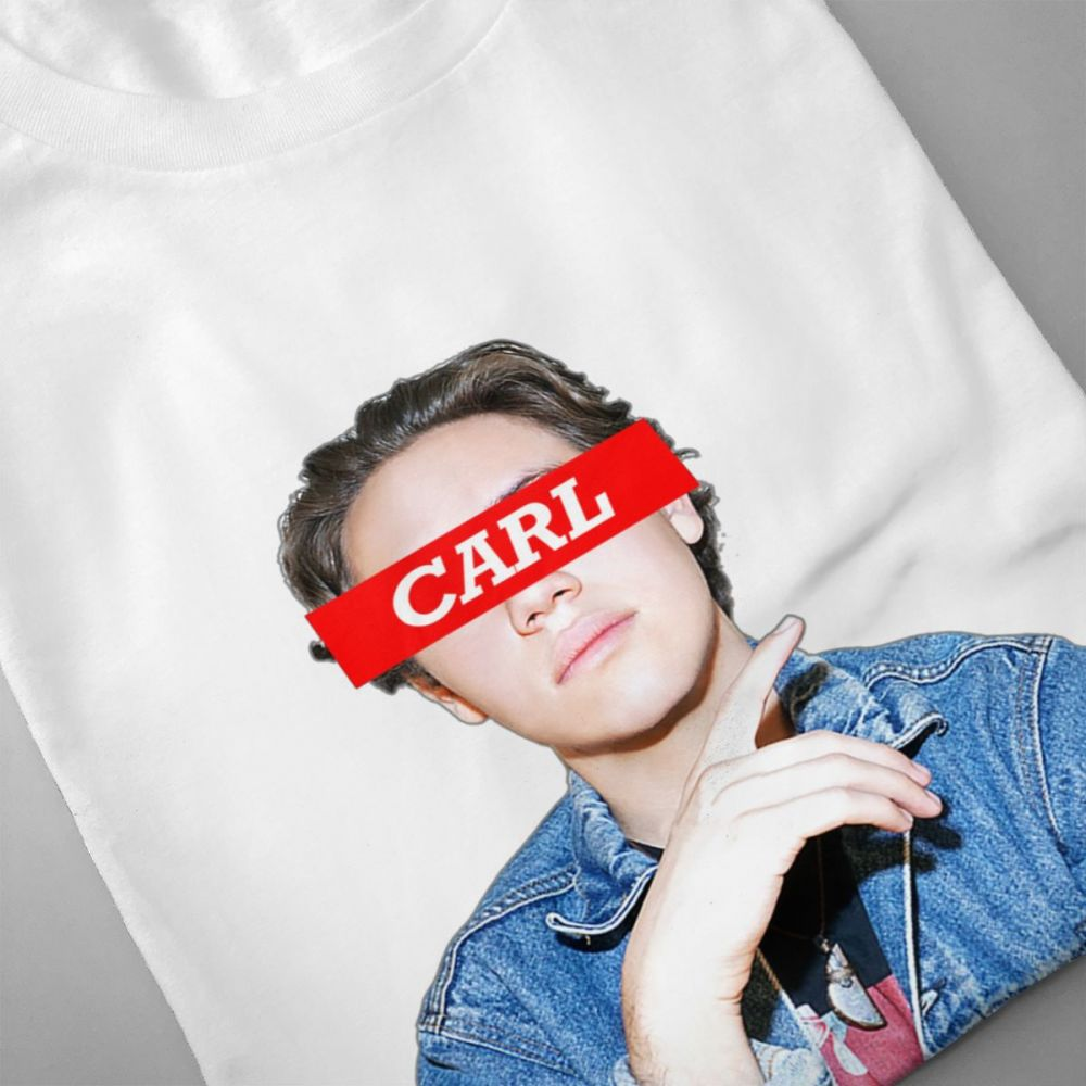 For Male Lip Carl Gallagher T shirt Anime Camiseta Crewneck S 6XL Big Size Tee The Series TV Shameless Casual New Arrival in T Shirts from Men 39 s Clothing