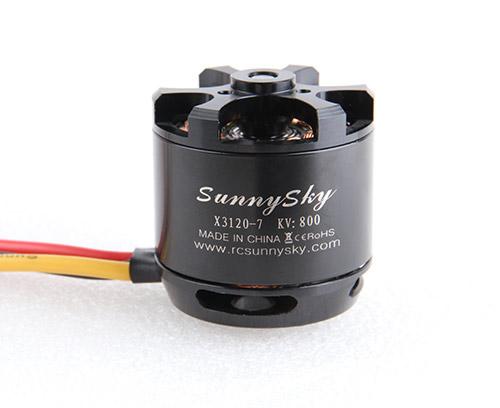 1pcs SunnySky outrunner X3120 800KV 920KV 1100KV 3-4S Brushless Motor X Series for RC Aircraft Quadcopter