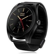 2016 neue smart uhren k89 runde bluetooth smartwatch für android-handy und iso iphone mit pulsmesser tragbare geräte