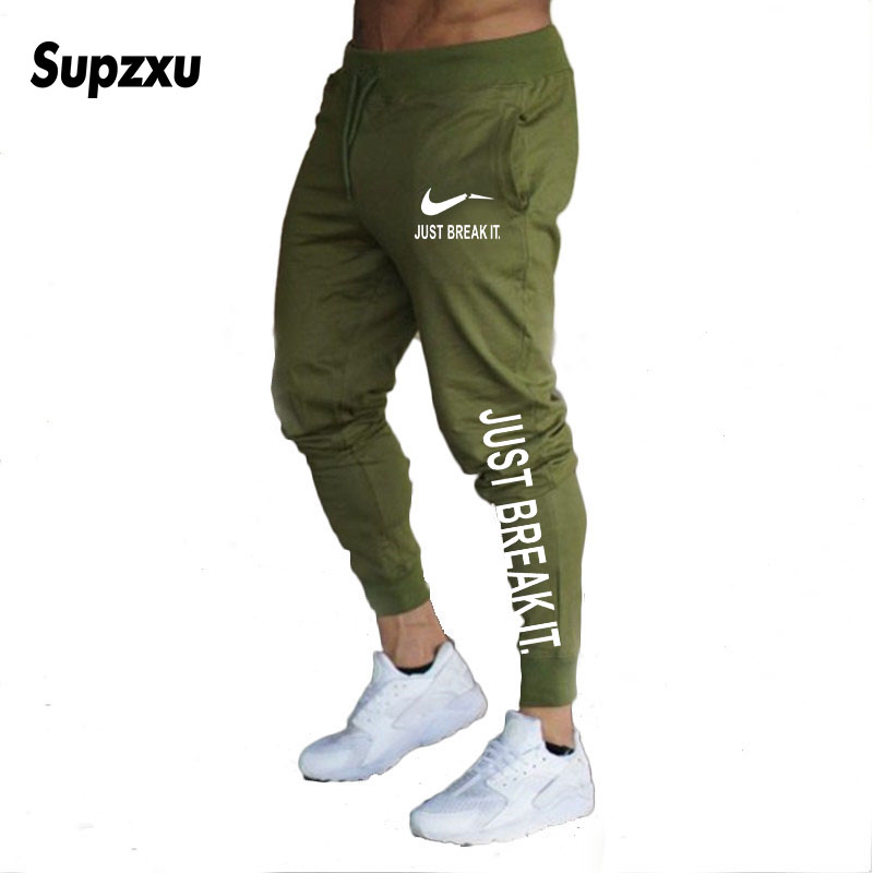 2019 New Jogger Pants Men Fitness Bodybuilding Gyms Pants For Runners Man Workout sportswear sportswear Bodybuilding Pants