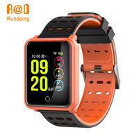 Rundoing N88 Smart Watch Bluetooth Fitness IP68 Waterproof 1.3 Color Screen Watch Heart Rate,Swim Sport Smartwatch