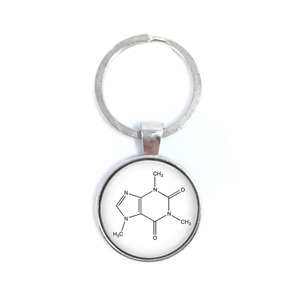 Novio Regalo serotonina qu/ímica biolog/ía qu/ímica f/órmula llavero