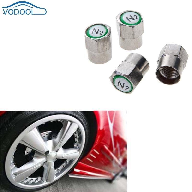 4pcs Chrome Plated Copper Car Wheel Tire Tyre Valve Stem Caps Dust Covers for Schrader Valves Car Styling Auto Accessaries