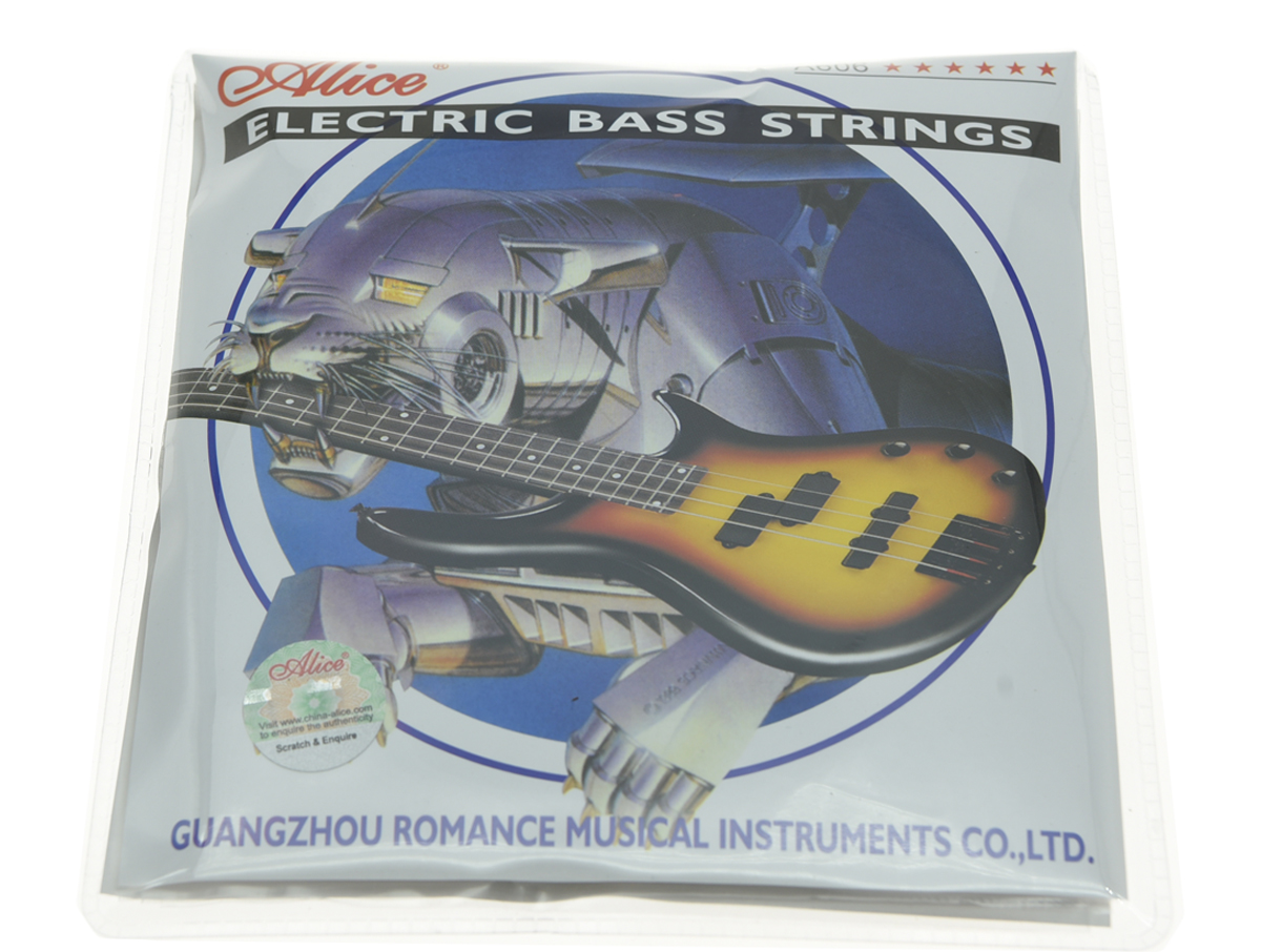 Alice 4 String Electric Bass Strings Bass Guitar Strings Nickel Alloy Sår .045-.105