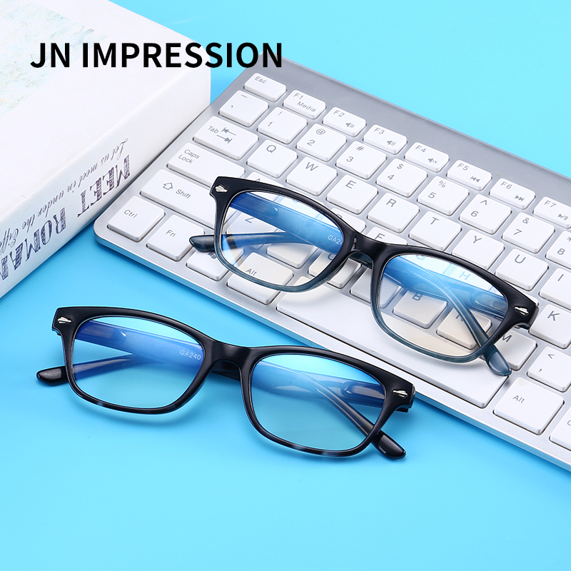 75470f38f4a8c Retro Anti-blu-ray Reading Glasses Women Clear Lens Anti Blue Light Eyeglasses  Vintage