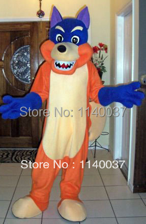 mascot fox mascot costume christmas halloween party mascotte costume outfit suit ems free shipping - Swiper Halloween Costume