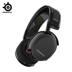 SteelSeries Arctis 7  Wireless Gaming Headset with DTS Headphone:X 7.1 Surround for PC Playstation 4 VR Android and iOS
