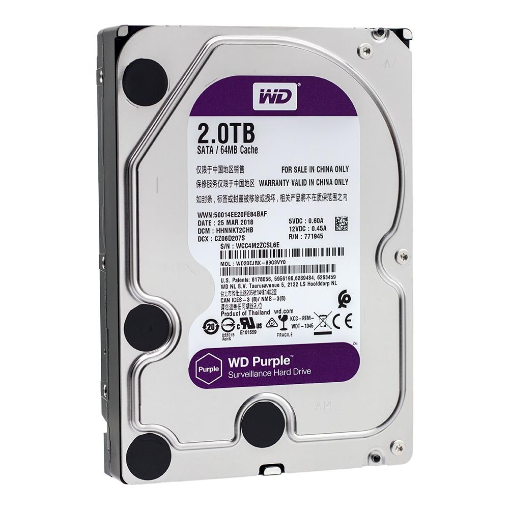 """WD20EJRX WD Purple 2TB HDD SATA 6Gb/s 3.5"""""""