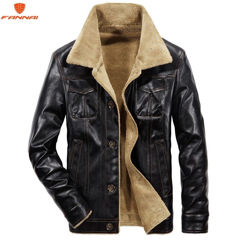 100% QualitäT 2018 Neue Pu Künstliche Casual Mann Jacken Für Männer Leder Jacke Männer Mantel Der Winter Warme Samt Mantel Winter Jacke Männer