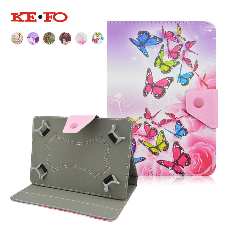 Butterfly style PU Leather Case Cover For ipad air 2 for ipad 6 9.7 Inch funda tablet 10 10.1 universal bags For ipad air case