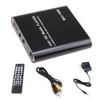 Full HD reproductor multimedia 1080 p TV Video AV HDMI USB SDHC MKV AVI RM rmvb con adaptador de coche regalo