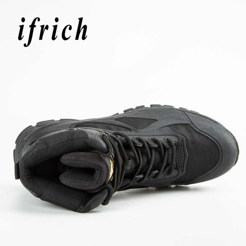 Брендовые военные тактические тренировочные ботинки черные бежевые армейские ботинки высокие кроссовки оригинальные дезерты Мужская Рабочая защитная обувь