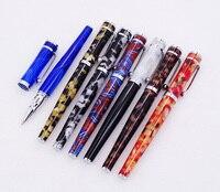 Fuliwen целлулоид Ручка роллер с чернилами пополнения 2037 кленовый лист серии, мода писать подарок набор ручка для бизнес офис школы