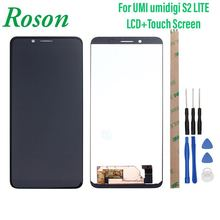 Roson for UMI Umidigi S2 LlTE F602517VA LCD Display And Touch Screen +Frame Digitizer Replacement For UMI UMIDIGI S2 LlTE+Tools