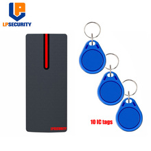 Wiegand 26 Access Control Device Outdoors IP68 RFID Reader with ID IC tags available