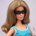 100PCS/LOT 1/6 Doll Accessories Fashion Black Doll Glasses