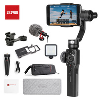 Zhiyun Smooth 4 3 Axis Handheld Gimbal Portable Stabilizer Camera Mount for iPhone & Samsung & Huawei & Mi & Gopro Action Camera