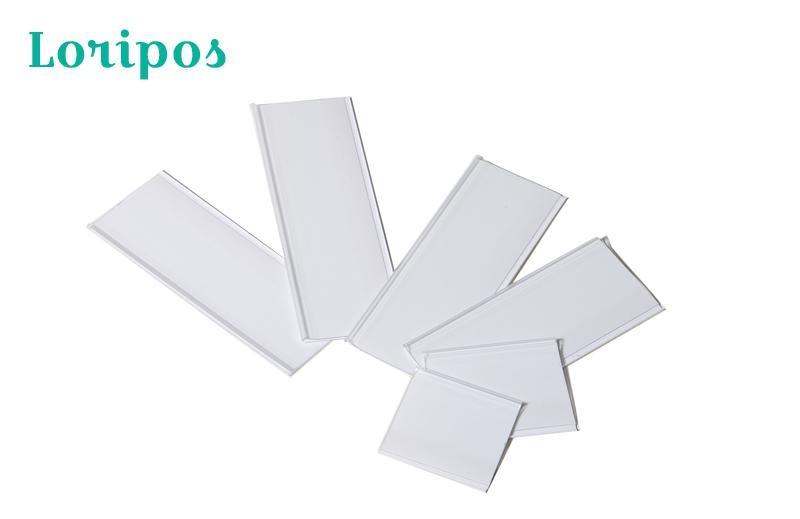 Shelf Edge Name Card Holder Clip Strip Paper Holder Shelf Talker Signs Clip Strip Display Rack Data Strip Label Holder Adhesive