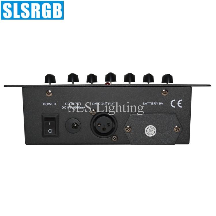 все цены на SLS-1321 6CH simple dmx 512 stage light console 6 channels dmx console dj lighting mini dmx controller console Simple DMX Light