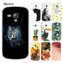 цена на For Samsung S3mini Case For Galaxy S3 Mini i8190 Phone Cover Silicone TPU Soft Coque Funda For Samsung S3 mini GT-i8190 Capas