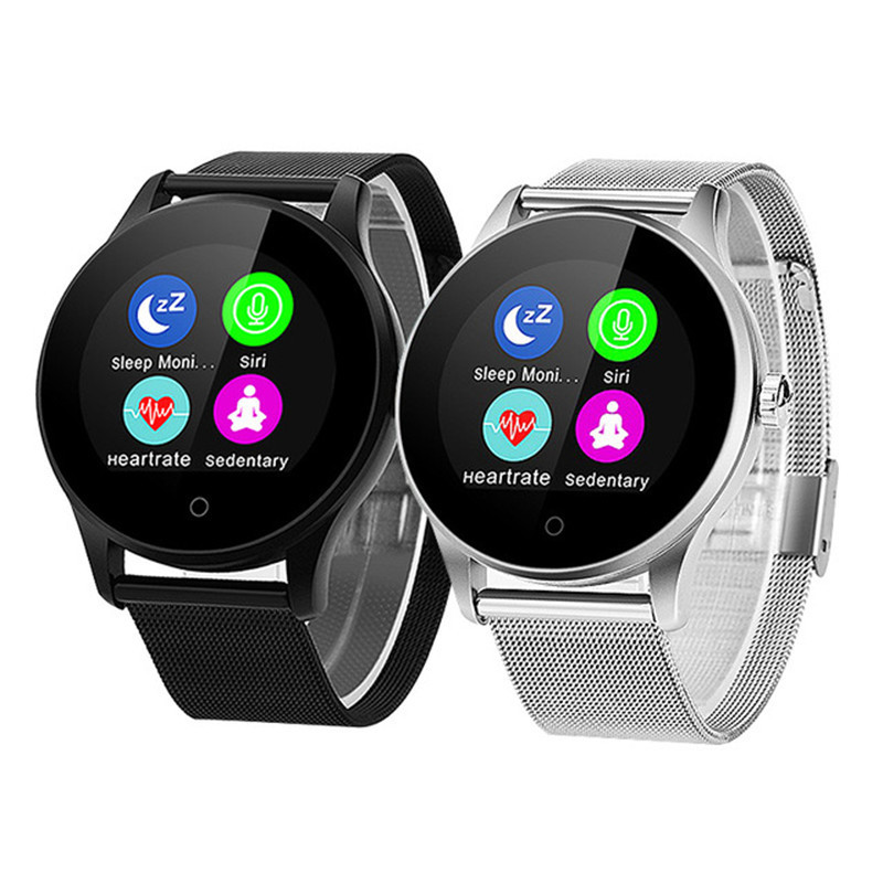 K88H Bluetooth Smart Watch Classic Health Metal Smartwatch Heart Rate Monitor For Android IOS Phone Remote