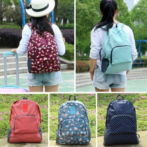 New 2016 Foldable Women Backpack Female Casual Travel bag mochila feminina School bag for teenage girls